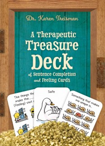 Treisman - a therapeutic treasure deck COVER