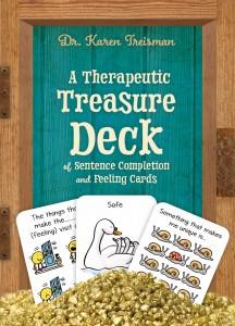 Treisman - a therapeutic treasure deck COVER