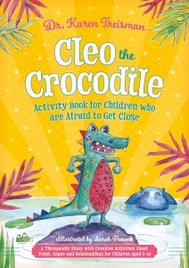 front cover cleo the Crocodile - Cover RGB
