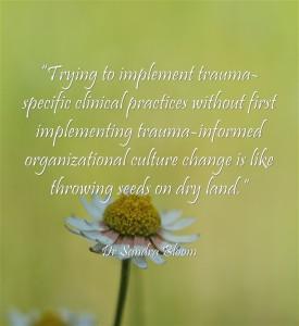 sandra bloom quote